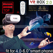 """3D Video Cardboard VR Box Virtual Reality Glasses Headset For Smart Phone 4-5.7"""""""