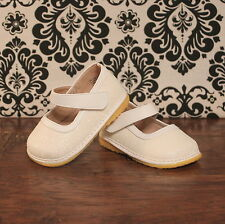 White Sparkle Girl Mary Jane Squeaky Shoes, Size 3 4 5 6 7 8 9