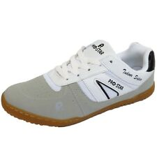 MENS WHITE GREY LACE-UP SPORTS RUNNING WALKING GYM TRAINERS SHOES PUMPS UK 6-11