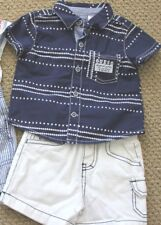 GUESS Jeans 3 6 M Shorts Shirt Tee Top S/S Boy's FREE Ship NWT