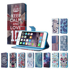 For iPhone 6s PlusFloral Pattern Card Slot Flip Stand Leather Case Cover Stylish
