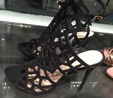 ZARA OPENWORK LEATHER SANDALS 36-41 Ref.  5453/101