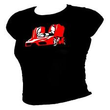 Ferrari Enzo inspired Legendary hypercar 100% cotton T-shirt - ladies all sizes