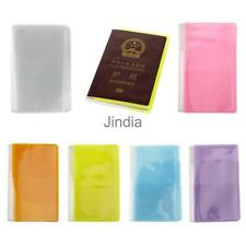 New PVC Ticket Case Protector Travel Passport Holder Cover Bag Organizer Wallet