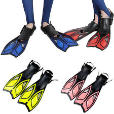 Summer Scuba Diving Swimming Snorkeling Freediving Fins Flippers Shoes Open Heel