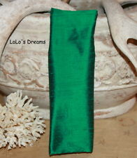 SALE Chandelier Chain Cord Cover~VELCRO~Emerald Green Silk  3ft/6ft/9ft