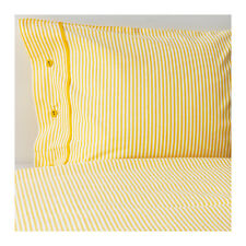 IKEA NYPONROS Duvet Comforter Cover Set YELLOW TWIN QUEEN KING NEW free priority
