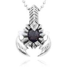 Men's Punk Rock Big Scorpion Stainless Steel Pendant Necklace Jewelry Gift