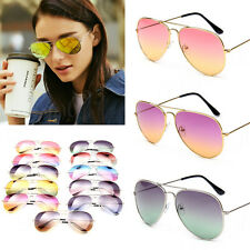 Brand Designer Aviator Sunglasses Women Men Gradient Summer Aviator Frog Unisex