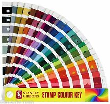 STANLEY GIBBONS COLOUR KEY - IDENTIFY STAMP COLOR SHADE