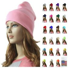 Men Women Plain Cap Beanie Cap Knit Hat Warm Winter Warm Hat Ski Hip Hop Unisex