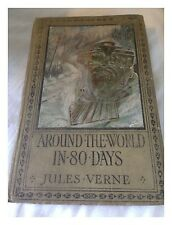 Around The World In Eighty Days By Jules Verne Published By Ward Lock & Co 1930s