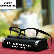 NEW MENS RETRO EYEGLASSES FASHION STYLISH FASHION TRENDY EYEWEAR 4 COLOR FRAME