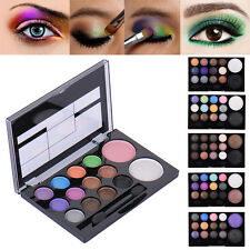 Pro 14 Warm Colors Glitter Shimmer Eyeshadow Palette Neutral Nude Eyeshadow Set