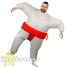 INFLATABLE SUMO WRESTLER NOVELTY FANCY DRESS COSTUME FAT SUMO SUIT OUTFIT