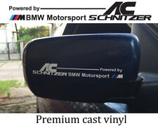Set of 2 x BMW AC Schnitzer body side decal sticker compatible with BMW M series