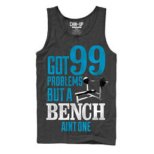 CHIN UP Ninety Nine Problems Mens S Graphic Tank Top - Fifth Sun