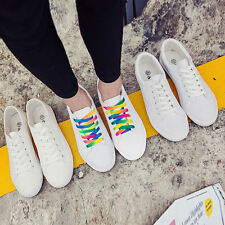 New Popular Lady Casual Breathable Low Tops Shoes Lace Up Pumps Sneakers Shoes
