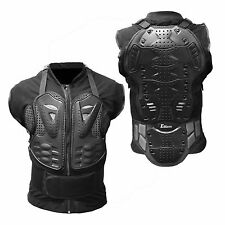 Motorcycle Body Armor Tank Shirt Jacket Street Bike Back Shoulder Protector Gear