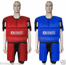 ACTIVITY BODY SUIT ARMOUR RUGBY LEAGUE UNION REVERSIBLE S M L XL Mens protector