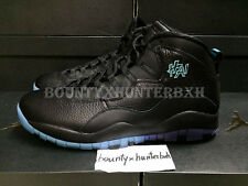 Nike Air Jordan 10 X Retro Shanghai City 7.5-13 Black Blue Purple 310805-024