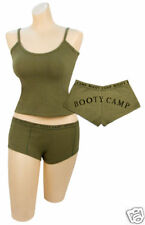Women's Olive Drab Booty''Booty Camp'' Booty Shorts & Top