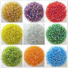 1200PCS Newly DIY Multi Colors Czech Glass Seed Spacer Beads Jewelry Making 2mm