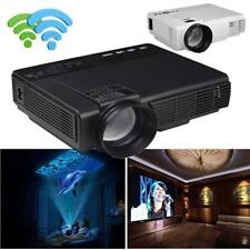 1000 Lumens LED Projector Home Theater USB TV 3D HD 1080P Business VGA/HDMI HOT