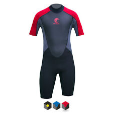 Odyssey Core 3/2mm Mens Shorty Wetsuit Surf Swim Kayak Shortie Wet Suit S-XXL