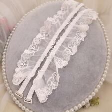Beautiful Women's Wide Lace Bra Strap Adjustable Elastic for Party Bridal Dress