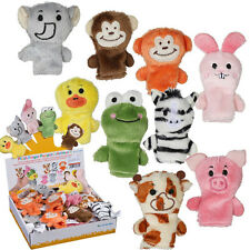 FARM ZOO ANIMAL FINGER PUPPETS TOYS BOYS GIRLS BABYS PARTY BAG FILLER GIFT NEW