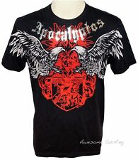 ARTFUL COUTURE EAGLE FIGHTER TATTOO T-SHIRT Size L HEAVY METAL EXTREME ROCK DARK