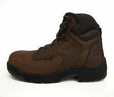 "Timberland PRO Mens 26063 Titan 6"" Safety Toe Work Boot Coffee"