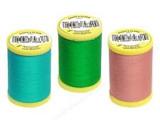 Coats & Clark All Purpose Cotton Thread 225 Yds - Pack of 2 Many Colors Availabl