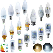 1/12x 3W 4W 5W 6W 8W E14 E27 B15 B22 G9 SMD LED Candle Bulbs Corn Lamp Spotlight