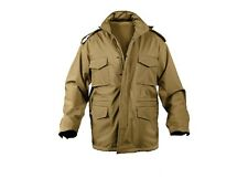 5244 Rothco Coyote Brown Soft Shell Tactical M-65 Jacket