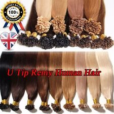 New Arrival Pre Bonded U Tip Remy 100% Human Hair Extensions 0.5G 200S UK U290
