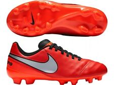 Nike JR Tiempo Legend Firm Ground Soccer Shoe Cleat 819186-608 Retail $50.00.
