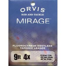 Orvis Fly Fishing Mirage Fluorocarbon Trout Leader