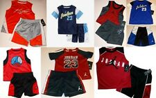 Air Jordan Jumpman Infant Toddler Boys 2-Piece Tee and Shorts Set, Sz 3/6M - 4T