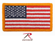 Rothco 17775 American Flag Patch With Hook & Loop Back - 17/8 Inchesx33/8 Inches