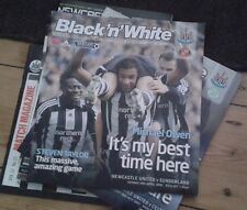 Newcastle United Home Football Programme Collection (22)