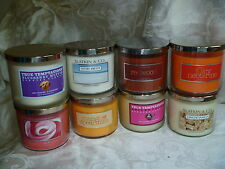 Bath & Body Works White Barn NY Slatkin Candle NEW Disc Choose Scent 14.5 oz X1