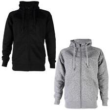 BB MENS JACK & JONES MAUGER CASUAL ZIP UP QUILTED HOODED JACKET SIZE S-XXL