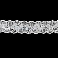 5Yards 6.5cm Stretch Floral Lace Fabric Trim DIY Sewing Craft Wedding Decoration