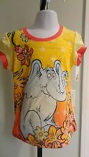 "NWT Dr. Seuss Infant/Toddler Girls Sparkly ""Horton"" Floral SS Tee - 12mos-5T"