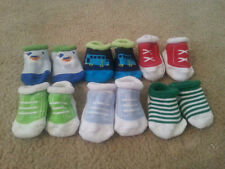 Lot of 6 Pairs Infant Baby Boys Soft Socks Super Cute U pick set