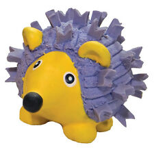 Ruff Tex Violet HedgeHog Dog Toy - 100% natural rubber - Super loud squeakers