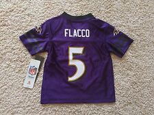 NEW Baltimore Ravens JOE FLACCO kids toddler jersey 2T 4T