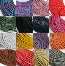 5/10M Quality Leather Cord Necklace String Thong Jewelry Making 1.5/2.0MM DIY